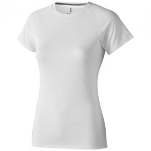 Elevate Damski T-shirt Niagara z krótkim rękawem z tkaniny Cool Fit odprowadzającej wilgoć (39011010)