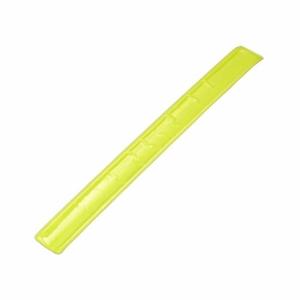 Opaska odblaskowa, żółty z logo (R17763.05)