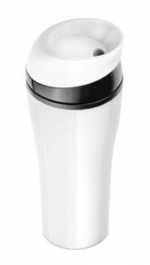 Kubek termiczny SLIDE 400 ml biały (17567-01)
