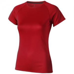 Elevate Damski T-shirt Niagara z krótkim rękawem z tkaniny Cool Fit odprowadzającej wilgoć (39011250)