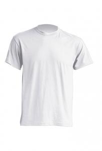 T-shirt Męski PREMIUM 190  WHITE (TSRA 190 WH)
