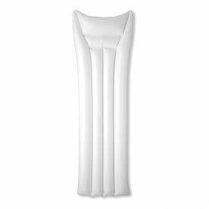 AIR WHITE Materac plażowy z logo (MO8439-06)