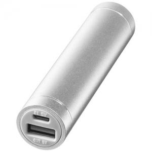 Aluminiowy akumulator powerbank Bolt 2200 mAh (12356702)