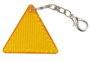 Brelok odblaskowy Seguro, pomarańczowy/żółty  (R73237)