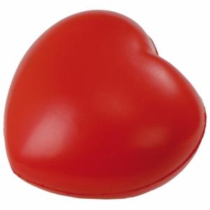 Antystresowe Heartie, czerwony z logo (R73933)