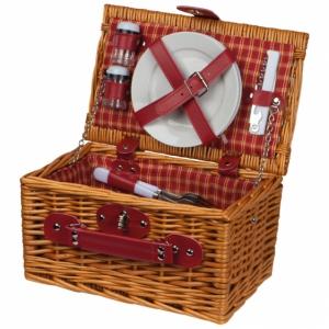 Kosz piknikowy dla dwóch osób z logo (6085601)
