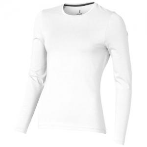 Elevate Damski T-shirt organiczny Ponoka z długim rękawem (38019010)