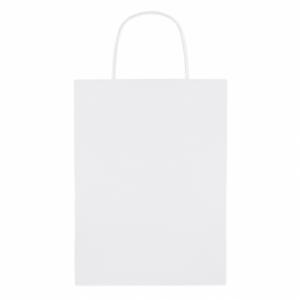 PAPER MEDIUM Paprierowa torebka ozdobna śre z logo (MO8808-06)