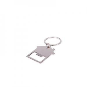 Brelok do kluczy domek, otwieracz do butelek (V9495-32)