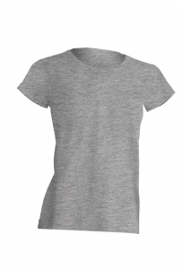 T-shirt Damski REGULAR LADY GRAY MELANGE (TSRL CMF GM)