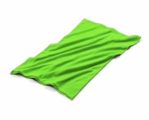 Komin TUBO zielony jasny (20115-13)