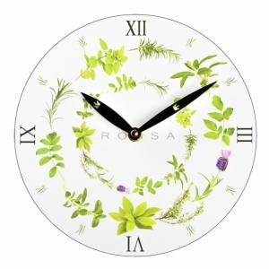 Zegar ścienny, biały z logo (ZEGAR-3)