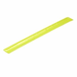 Opaska odblaskowa, żółty z nadrukiem (R17764.05)