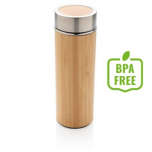 Bambusowa butelka próżniowa 350 ml (P436.239)