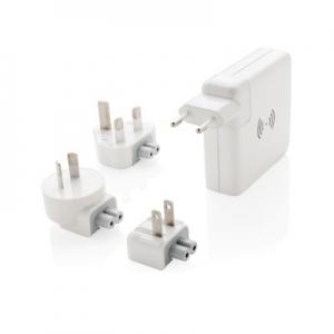 Adapter podróżny, bezprzewodowy power bank 5W (P820.551)