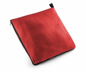 Koc 2 w 1 czerwony (20405-04)