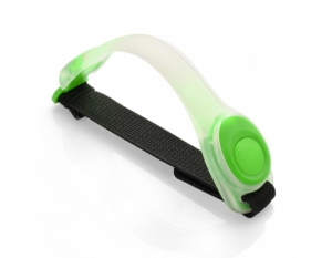 Opaska LED na ramię zielona (29126-05)