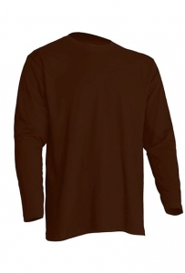 T-shirt Męski z długim rękawem CHOCOLATE (TSRA 150 LS CH)