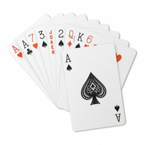 ARUBA Karty do gry w pudełku z logo (MO8614-04)