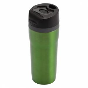 Kubek izotermiczny Winnipeg 350 ml, zielony/czarny z logo (R08394.05)